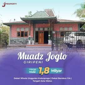 Rumah Joglo Cocok Untuk Homestay Dekat Bandara
