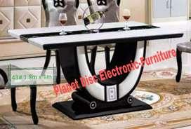 Meja Makan 180cm  Meja Makan Batu Marmer  Dining Table