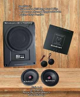 • Paket Audio Budget pas Berkualitas