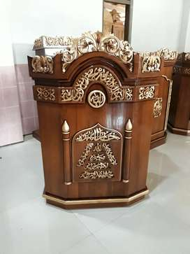 Mimbar masjid al wakil jati indah 29