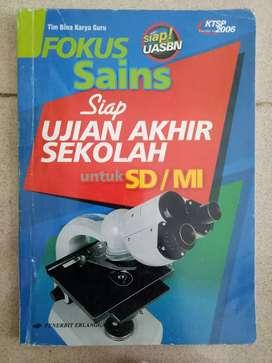 Dijual buku Siap Ujian Akhir Sekolah u SD/MI