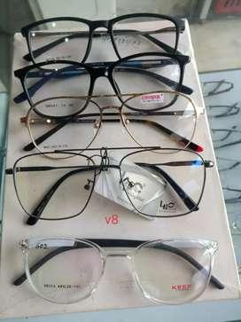 All variety of frames ,redimade powered specs,sunglass specs,bluecut .