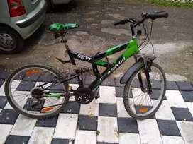 Hero spirint Cycle 26 inches .18 gear ( 3 speeds,6 gears) dual suspe