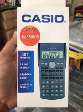 Kalkulator scientific Casio fx 350   ilmiah sin cos anak sekolah kulia