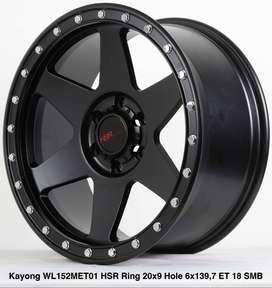 velg hsr wheel kayong HSR R20X9 H6X139,7 ET18 smb