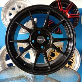 Weds Sport R15x6.5/pcd 4x100 Brio Jazz Yaris Vios Ayla Agya Brio
