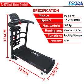 Treadmill listrik gf 607