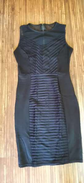Black body fitted one piece  ,size M ,