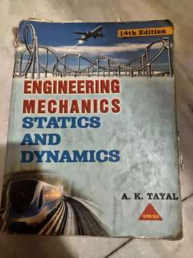 Engineering Mechanics By AK Tayal