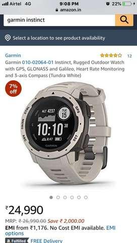 Garmin Instinst Smart Watch