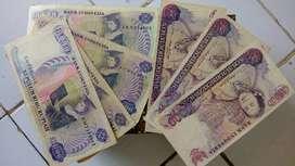 Uang Kertas kuno Rp 10.000,- Kartini tahun 1988