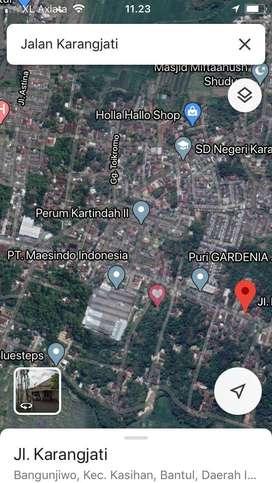 Tanah Kavling Siap Bangun 50 m dari Jalan Raya Kasongan-Bangunjiwo
