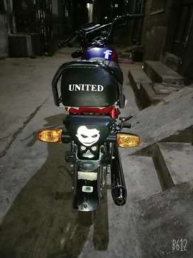 United CD 70 for sale and exchange possible Honda 70