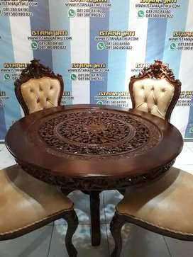 meja makan jati mewah jepara6474