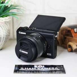 Canon eos M100 hitam