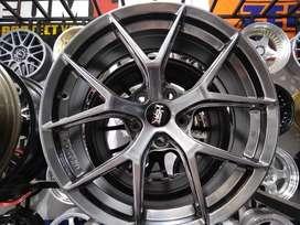 Ready Stock Velg Mobil Almaz, Alphard, CRV dll R18 HSR Wheel WURZBURG