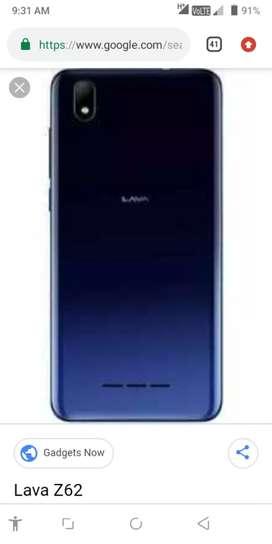 Lava mobile z62