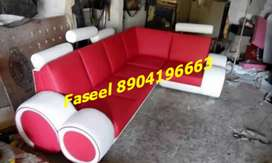 TC55 corner sofa set branded color design 3 years warranty call