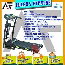 Alat Fitness Treadmill Elektrik TL-133 Merk Total Fitness Murah