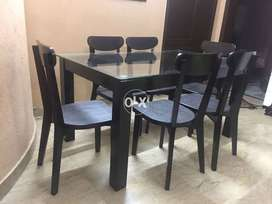 Wooden Dining Table and chairs set