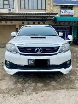 Toyota fortuner 2014 tipe G VNT TRD 2.5 A/T km 45rb