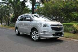 chevy Spin LTZ 1.5 AT 2014 silver