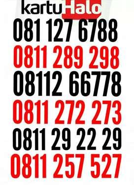 Telkomsel 10 digit halo, nomor super cantik