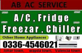 Ac service in wapda town Lahore