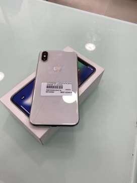 iPhone X 256GB slivar Bill box 100% Original all