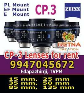 Cp3 lens for rent