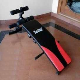 Alat fitnes Sit up bench latihan otot perut