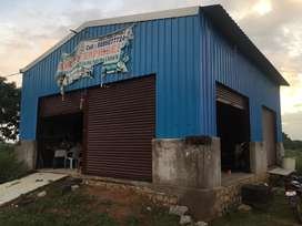 Shead rent or lease for godown,shops,storage etc