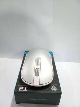 New Original Langtu T2 Mouse Wireless Gaming Silent Click plus Batre