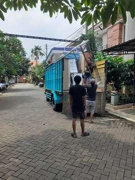Sewa truk double dan engkel angkutan barang