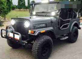 Modified open classic jeep