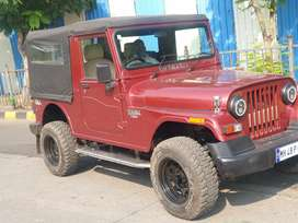 Mahindra Thar 2013 4x4 Diesel 68745 Km Driven next to show conditions