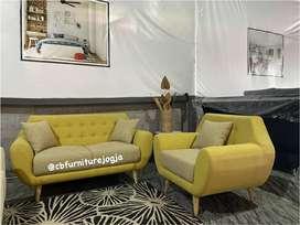 sofa tamu 2 1 , warna bisa mix