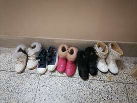 Girl shoes 4.5 to 5.5 years