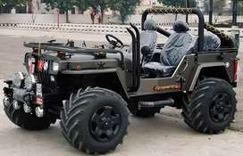 Open hunter modified jeep.