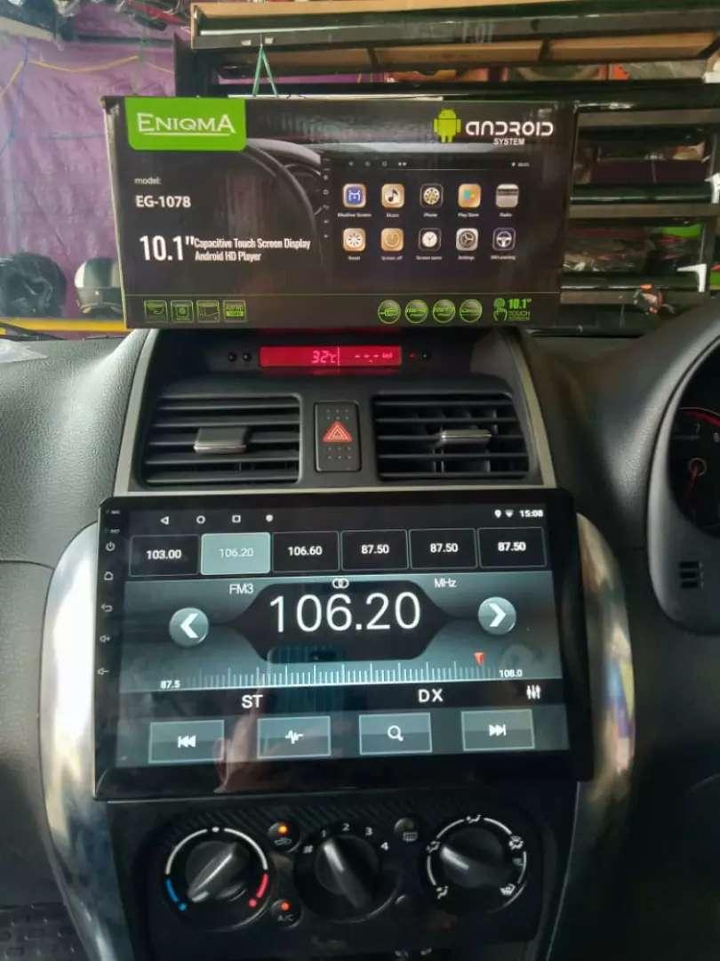 Sale tv Android 10 inch merek enigma ram 2 gb pluss masang