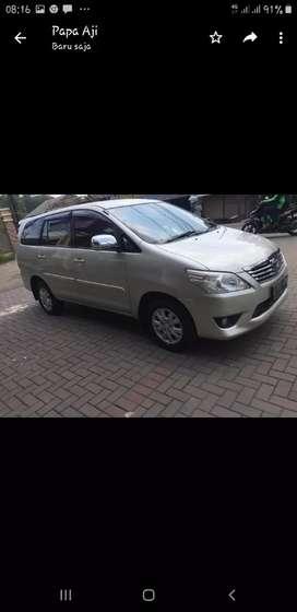 Toyota innova G 2013 dijual cepat BUTUH UANG