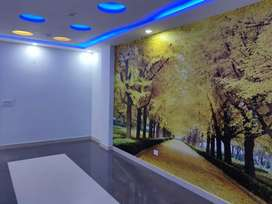 3 Bhk top floor with lift roof right