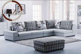 Brand new 5 seater corner sofa set with 5 year warranty.