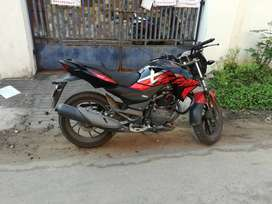 Powerful 200cc motorcycle