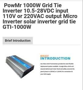 Listrik Tenaga Surya GRID TIE INVERTER 1000watt