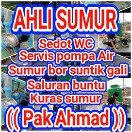 Service pompa air/sedot wc/sumur bor/suntik jogja