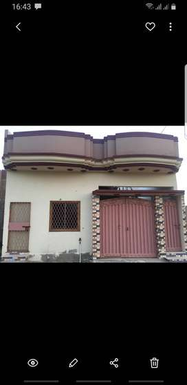 120 sqft single story banglow  zafar housing society phase 1