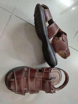 A pair of BATA sandals kid age 4-5 years