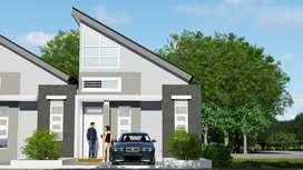 Rumah Bogor Minimalis Modern Type Mezanine
