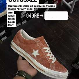 "Original  Converse One Star  OX Cali Suede Vintage Classic ""Brown"""